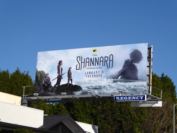 Shannara Chronicles series premiere billboard