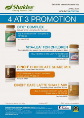PROMOTION BUY 3 GET 4 - APRIL 2014