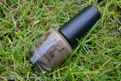 NOTD: OPI 'A-taupe the Space Needle'