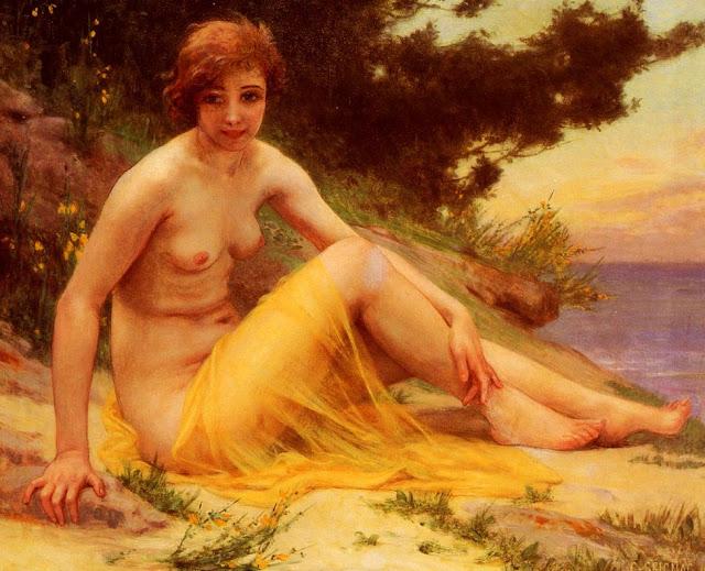 Guillaume Seignac,beach,beach girl