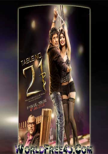 Cover Of Table No.21 (2013) Hindi Movie Mp3 Songs Free Download Listen Online At worldfree4u.com