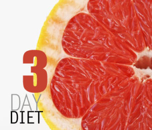 Cara Diet 3 Hari Turunkan Berat Badan
