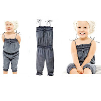 GAP Denim Jumpsuit