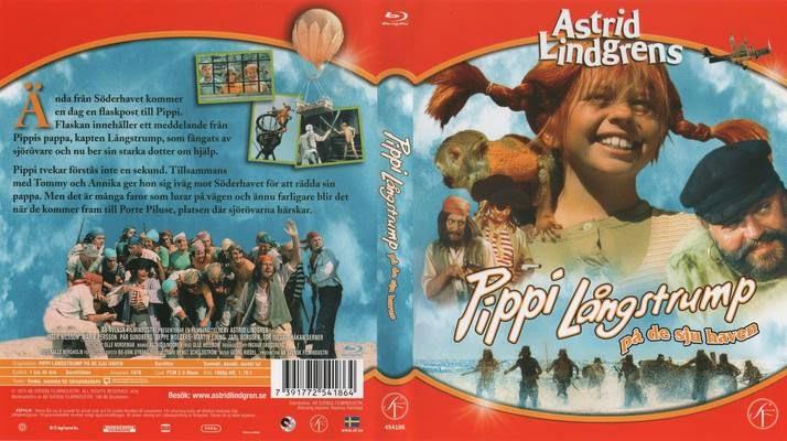 Пеппи в стране Семи Морей / Pippi Långstrump på de sju haven. 1970.
