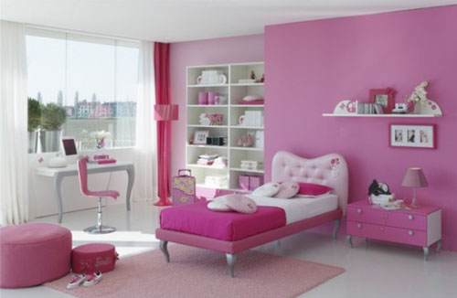 Pink Bedroom Ideas for Girl Kids