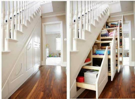Perfect under stairs storage ideas for small homes - Under stairs closet ideas ...