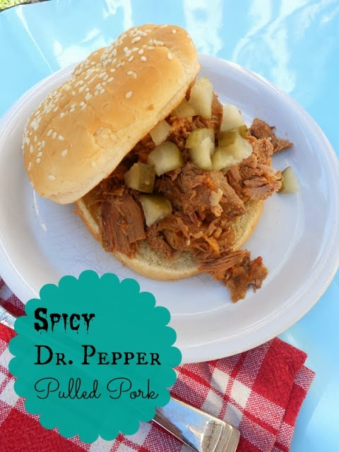 Ally's Sweet and Savory Eats: Spicy Dr. Pepper Pulled Pork