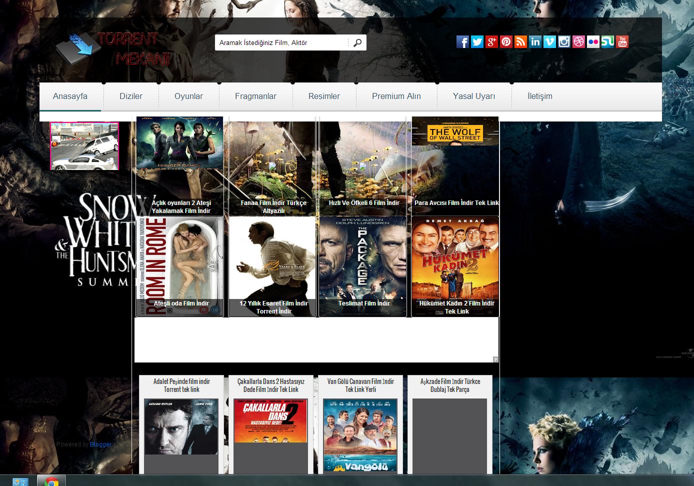 Blogger Moviescope Film Teması Indir Bilgili Yazar