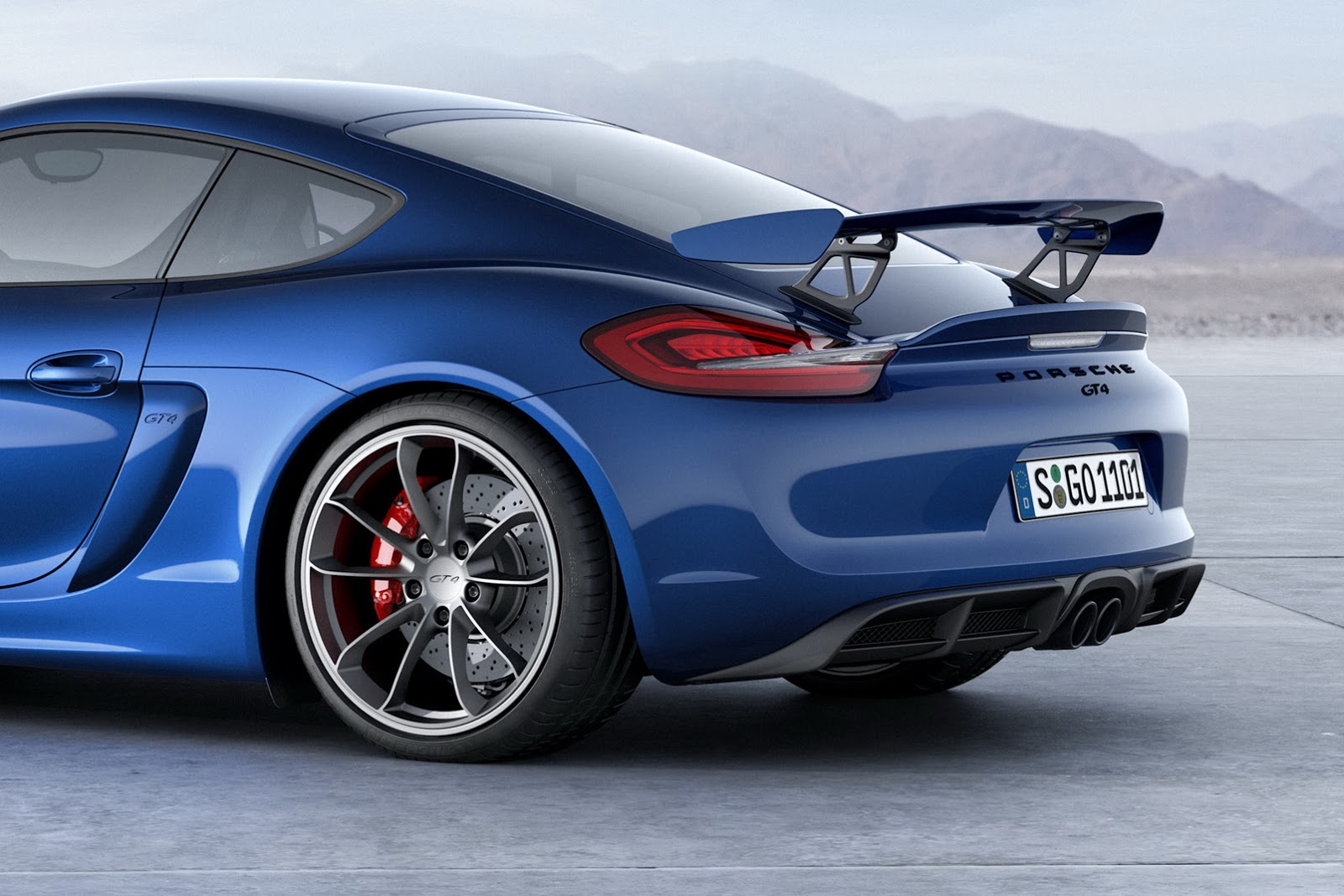 porsche reveals new cayman gt4 with 380hp priced from. Black Bedroom Furniture Sets. Home Design Ideas