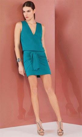 Bo.Bô coleção feminina verão 2015 conjunto de blusa e saia