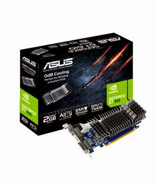 Buy Asus NVIDIA GT610 (SL-2GD3-L) 2GB Graphics Card Rs 3,115 only at Amazon