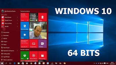 WINDOWS 10 RTM 64 BITS + ATIVADOR