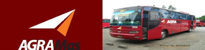 Trayek dan Harga Tiket Bus Agra Mas