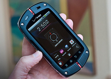 Casio G'zOne Commando, Shock-resistant Android Smartphone ...