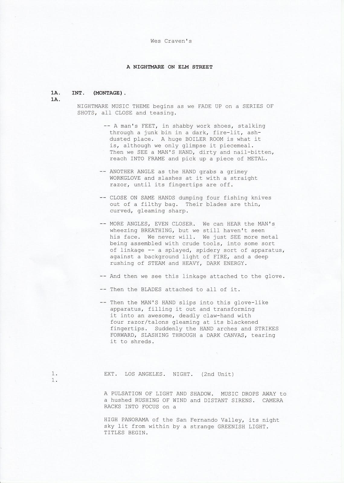 Foundation Portfolio Script Layout Examples