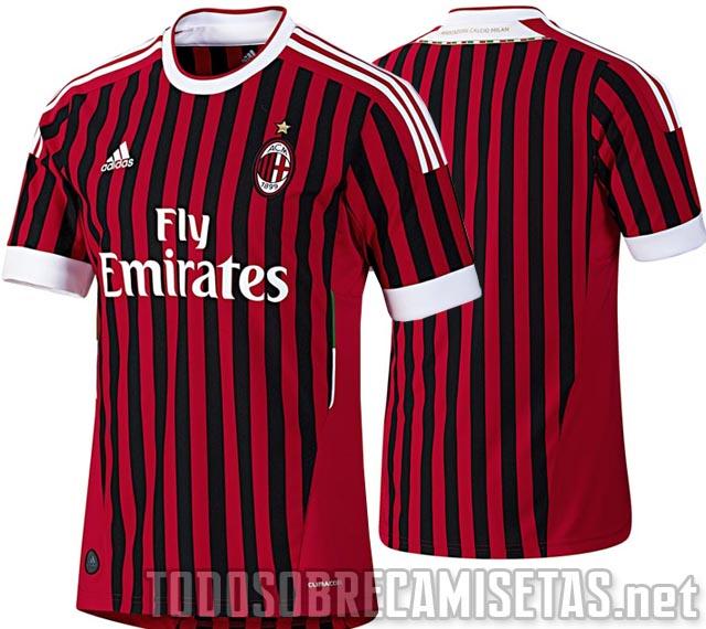 oficial que utilizará el próximo campeón italiano, el AC Milán ...