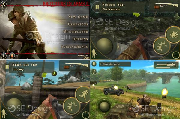 Android Games; Brothers In Arms 2