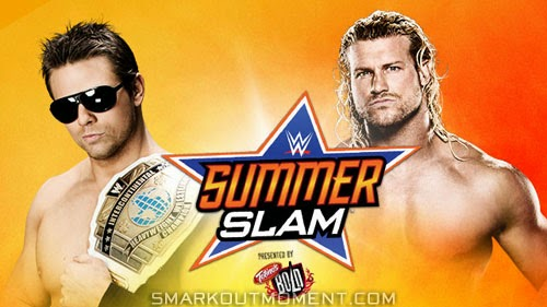 Dolph Ziggler versus The Miz at SummerSlam 2014 event
