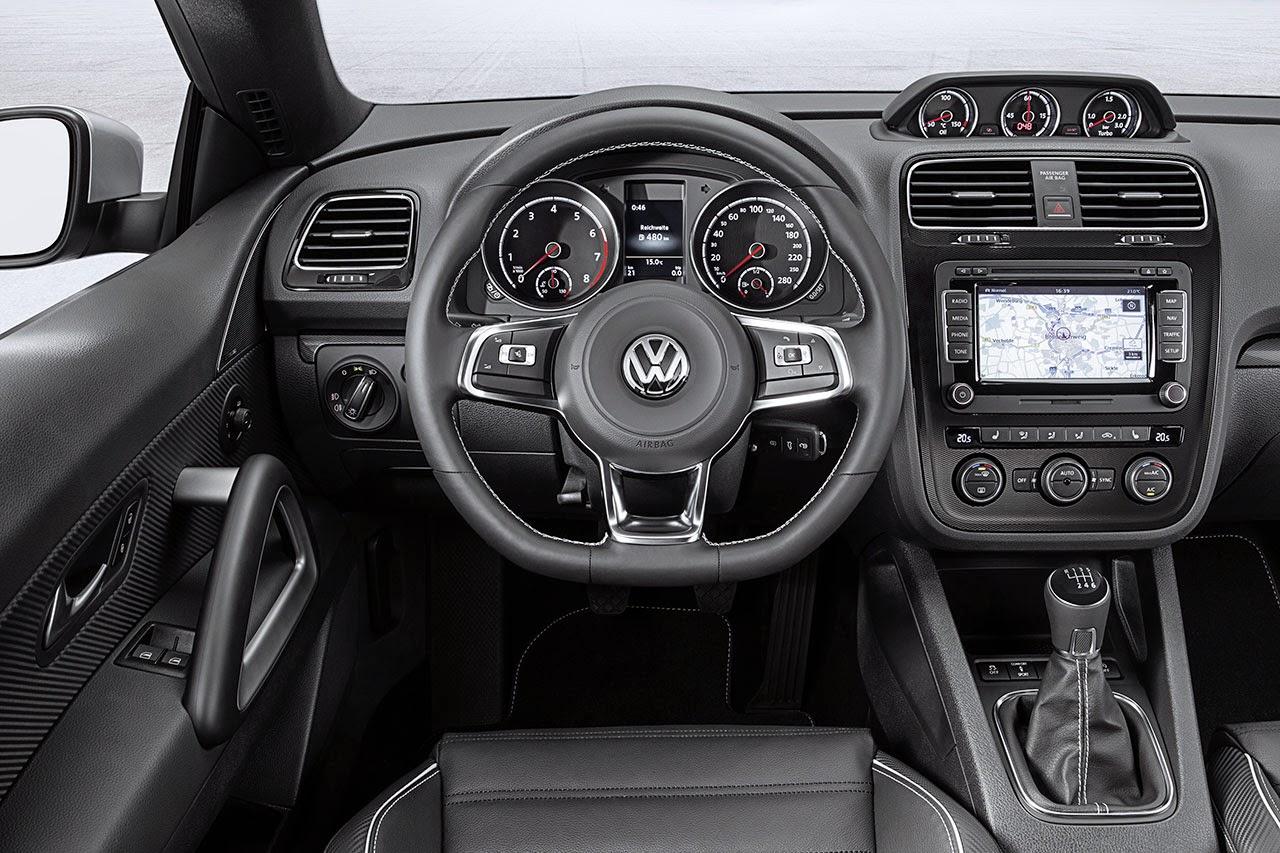 Volkswagen Scirocco dash