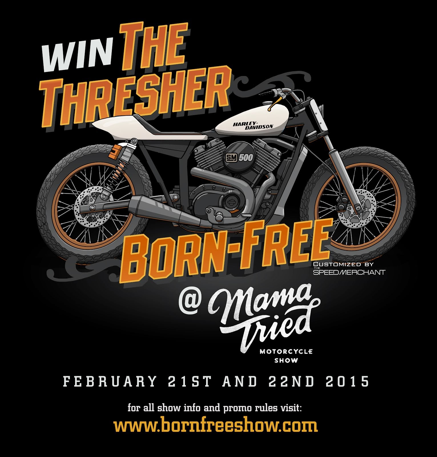 Win The Thresher @ Mama Tried
