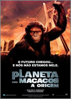 Filme Planeta Dos Macacos A Origem Dublado AVI BDRip