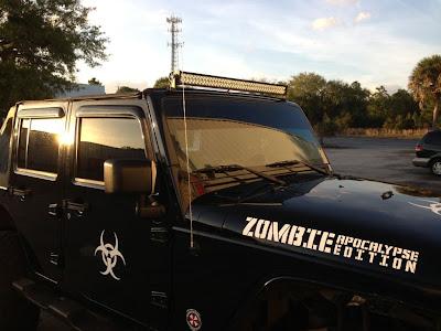 Zombie Apocalypse Edition Jeep Wrangler