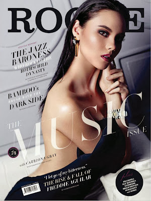 Catriona Gray HQ Pictures Rogue Phillippines Magazine Photoshoot January/February 2014