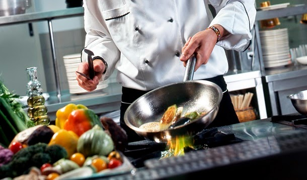Chefs fazem pratos mais saborosos quando são observados