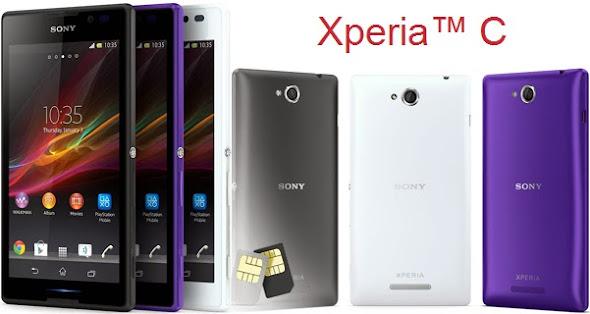 Sony Xperia C Terbaru