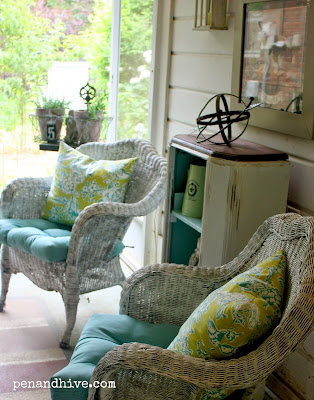 backporch seating