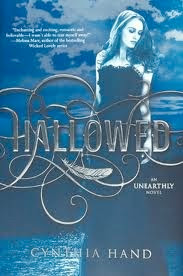 bookcover of Cynthia Hand's HALLOWED (Unearthly #2)