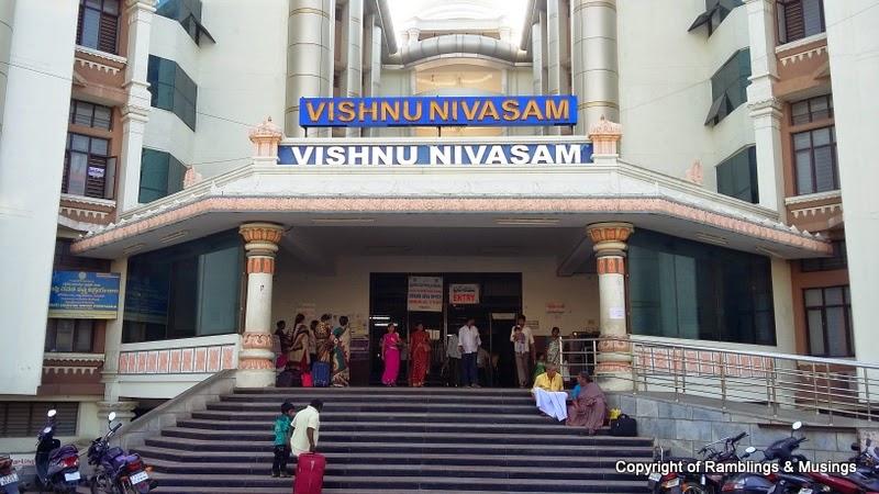 Vishnu Nivasam Rooms Booking