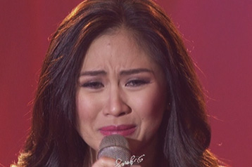 Sarah Geronimo Cries at Sarah G Live Finale Episode