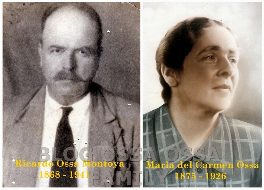Genograma Ossa Ossa. Archivos de Nueva Caramanta desde 1843 – 1910 Collage 1