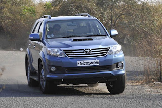 new toyota fortuner front view