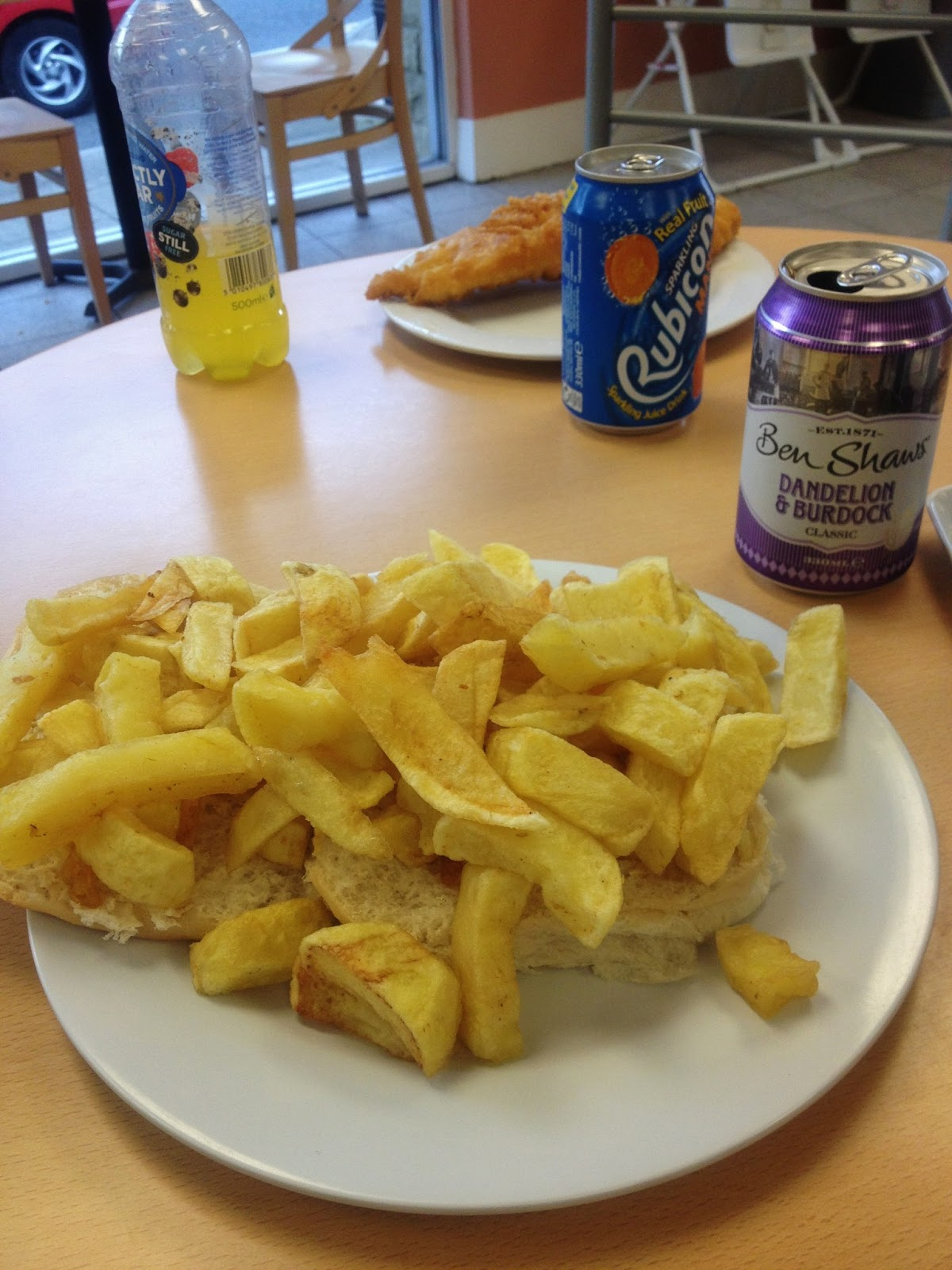 Breadsticklers a leeds food blog mcnic fisheries shipley for Si fish and more