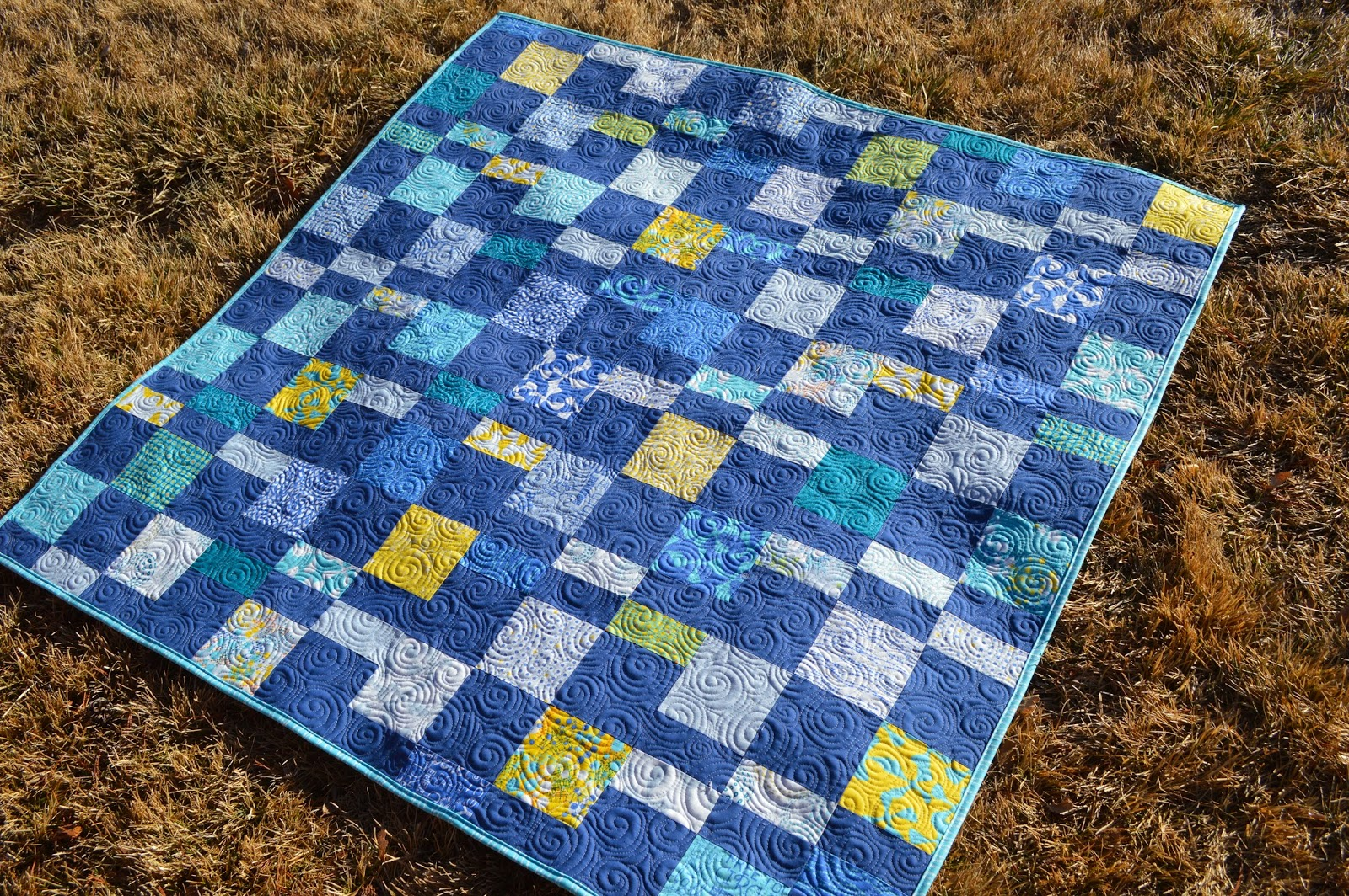 Happy Quilting: Charm Pack Cherry : how to put a quilt together - Adamdwight.com