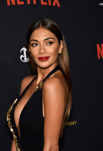 Actress, Singer, @ Nicole Scherzinger - The Weinstein Company & Netflix Golden Globe After Party in Beverly Hills