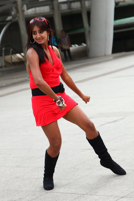 sanjana spicy cute stills