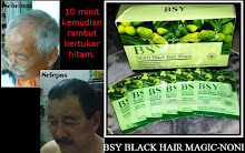 BSY black Hair Magic Shampoo