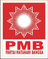 Logo/ Lambang Partai Matahari Bangsa - PMB