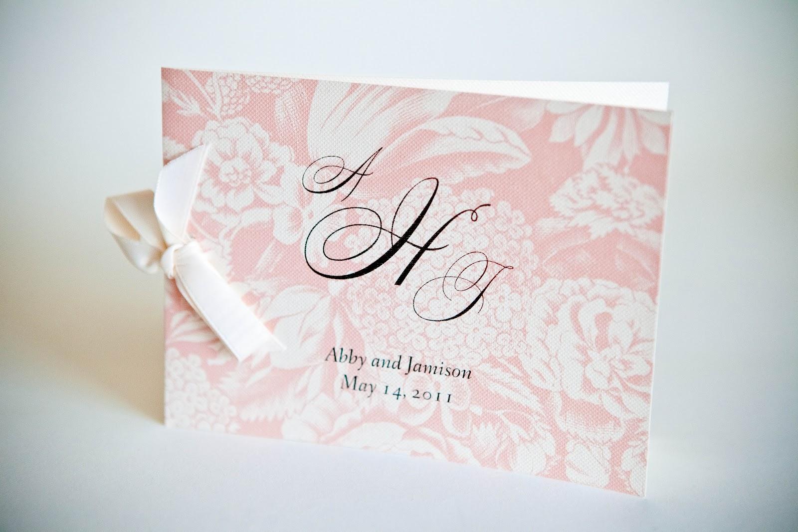 Wedding Program • Wedding Invitations Baltimore Kindly RSVP Designs Blog