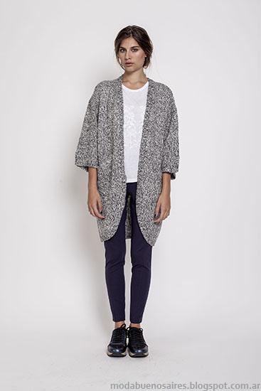 Sacos moda invierno 2015 ropa de mujer Janet Wise.