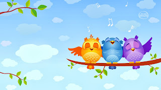 free hd images of singing birds for laptop