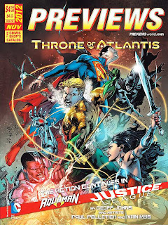 Diamond Previews November 2012: Justice League/Aquaman: Throne of Atlantis