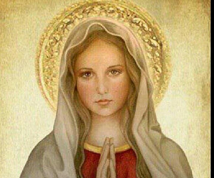 Virgin Mary Catholic On the blessed virgin mary
