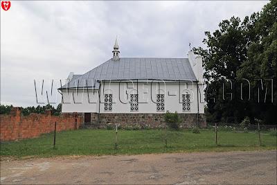 Wieś Kroszyn. Kościół Najśw. Bożego Ciała