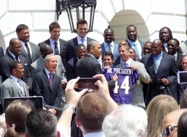 Barack Obama Ravens