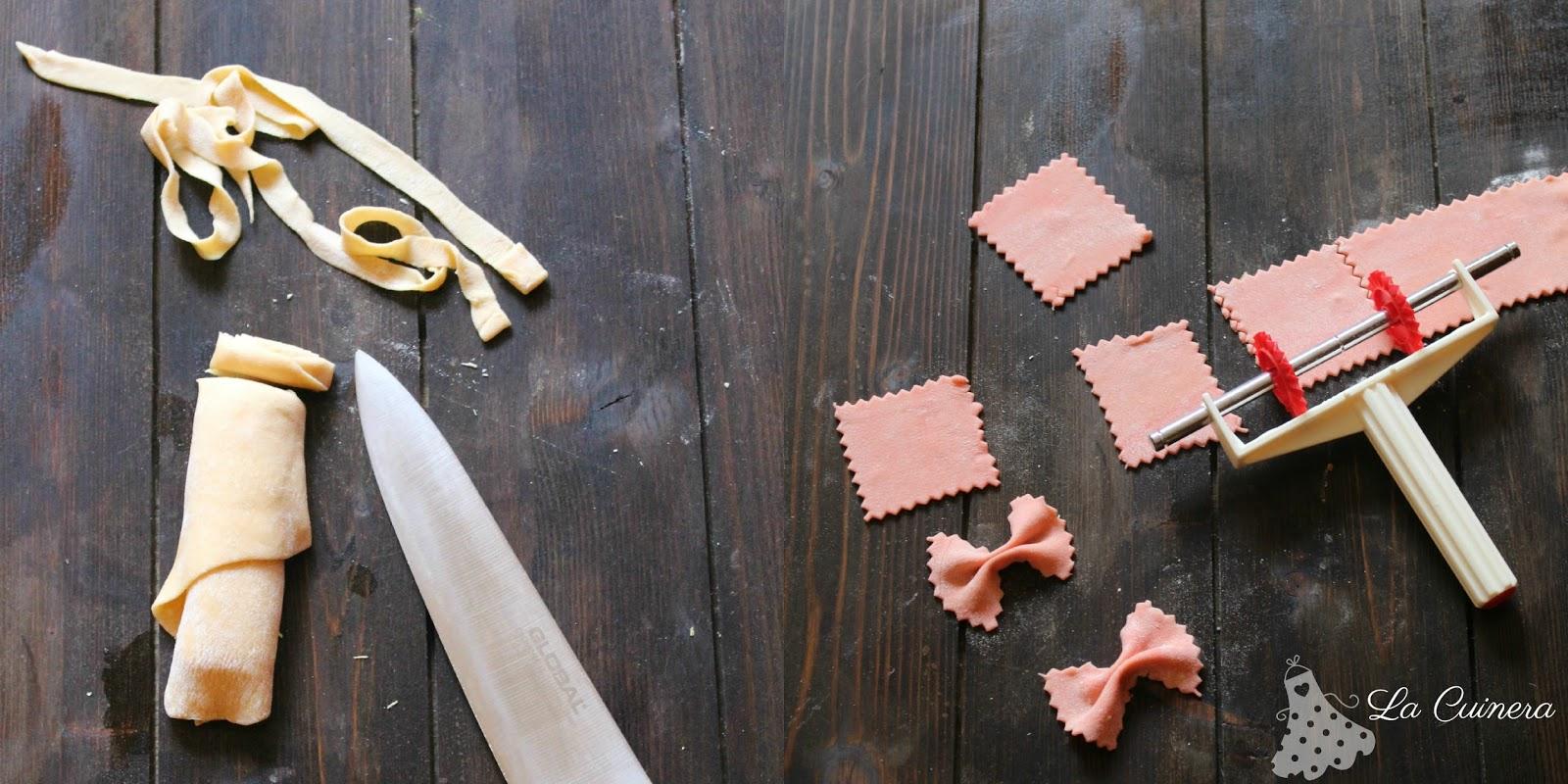 La cuinera c mo hacer pasta fresca en casa - Maquina para hacer macarrones ...