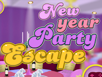 GraceGirlsGames - New Year Party Escape